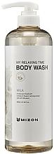 Voňavky, Parfémy, kozmetika Mliečny sprchový gél - Mizon My Relaxing Time Body Wash