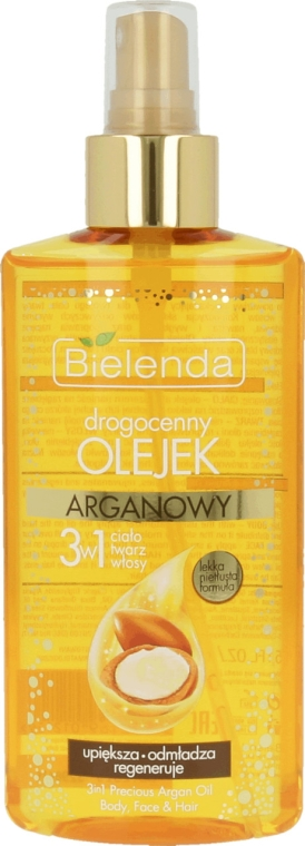 Arganový olej 3 v 1 pre telo, tvár a vlasy - Bielenda Drogocenny Olejek