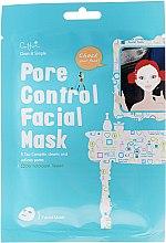 Voňavky, Parfémy, kozmetika Látková maska na utiahnutie pórov na tvári - Cettua Pore Control Facial Mask