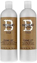 Voňavky, Parfémy, kozmetika Sada - Tigi Bed Head Clean Up (sh/750ml + cond/750ml)