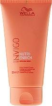 Voňavky, Parfémy, kozmetika Krém pre nepoddajné vlasy - Wella Professionals Invigo Nutri-Enrich Frizz Control Cream