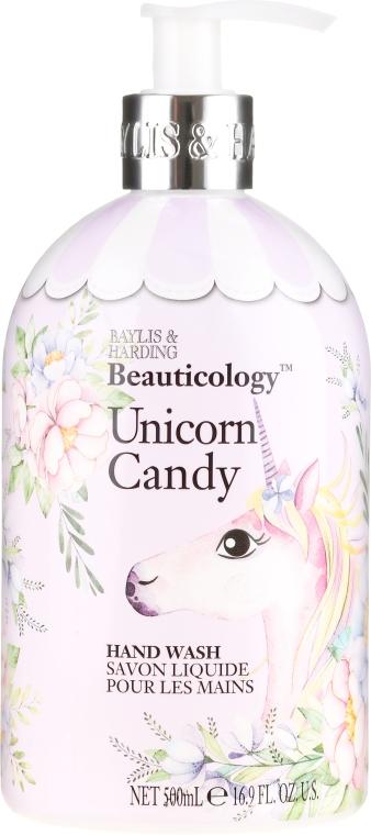 """Tekuté mydlo na ruky """"Jednorožec"""" - Baylis & Harding Beauticology Unicorn Candy Hand Wash — Obrázky N1"""