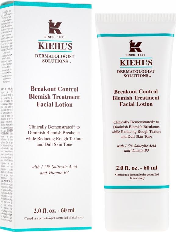 Lotion na zníženie a prevenciu nedokonalostí pokožky - Kiehl's Dermatologist Solutions Breakout Control Blemish Treatment Lotion