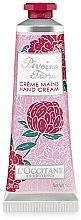 Voňavky, Parfémy, kozmetika Krém na ruky - L'Occitane Pivoine Flora Hand Cream
