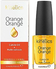 """Voňavky, Parfémy, kozmetika Olej na nechty a kožičku """"Pomaranč"""" - Kinetics Orange Cuticle Oil"""