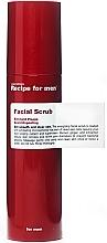 Voňavky, Parfémy, kozmetika Osviežujúci scrub na tvár - Recipe For Men Facial Scrub