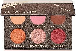 Voňavky, Parfémy, kozmetika Paleta očných tieňov - Zoeva Soft Sun Voyager Eyeshadow Palette