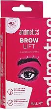 Voňavky, Parfémy, kozmetika Sada - Andmetics Brow Lift Kit (eyebrow/glue/7ml + eyebrow/perm lotion/5ml + eyebrow/fixation lotion/5ml + eyebrow brush/1pc)