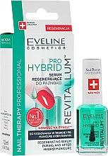 Voňavky, Parfémy, kozmetika Hybridný sérum na nechty - Eveline Cosmetics Nail Therapy Professional Revitalum Pro Hybrid