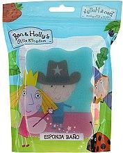 """Voňavky, Parfémy, kozmetika Detská hubka do kúpeľa """"Ben a Holly"""", Ben, šerif, modrá - Suavipiel Ben & Holly Bath Sponge"""