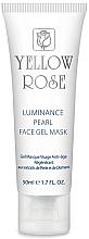 Voňavky, Parfémy, kozmetika Gélová maska na tvár s perlami, diamantovým prúdrom (tuba) - Yellow Rose Luminance Pearl Face Gel Mask