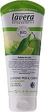 """Voňavky, Parfémy, kozmetika Osviežujúce telové mlieko """"Lime a Verbena"""" - Lavera Organic Lime & Verbena Body Lotion"""