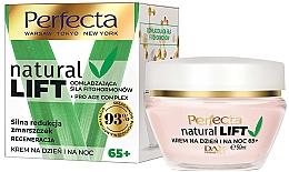 Voňavky, Parfémy, kozmetika Regeneračný krém na tvár proti vráskam 65+ - Perfecta Natural Lift Regenerating Anti-wrinkle Cream