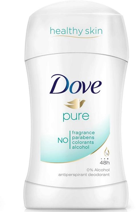 """Tuhý dezodorant """"Šetrná starostlivosť"""" - Dove Pure"""