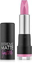Voňavky, Parfémy, kozmetika Matný rúž - Flormar Extreme Matte Lipstick