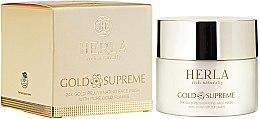 Voňavky, Parfémy, kozmetika Maska na tvár - Herla Gold Supreme 24K Gold Rejuvenating Face Mask With Pure Gold Flakes