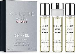 Voňavky, Parfémy, kozmetika Chanel Allure Homme Sport Eau Extreme - Toaletná voda (edt/3x20ml)