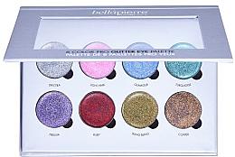 Voňavky, Parfémy, kozmetika Paleta na make-up glitter - Bellapierre 8 Color Pro Glitter Eye Palette