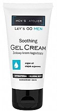 Voňavky, Parfémy, kozmetika Upokojujúci gélový krém - Hean Men's Atelier Soothing Gel Cream