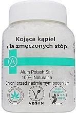 Voňavky, Parfémy, kozmetika Upokojujúca soľ pre unavené nohy - Biomika