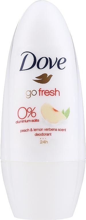 Dezodorant roll-on - Dove Go Fresh Peach & Lemon Verbena — Obrázky N1