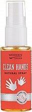 Voňavky, Parfémy, kozmetika Antibakteriálny sprej na ruky - Wooden Spoon Clean Hands Natural Spray
