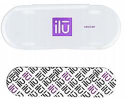 Voňavky, Parfémy, kozmetika Pilník na nechty,v taške - Ilu Nail File With Case Mini 240/240