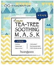 Voňavky, Parfémy, kozmetika Uspokojujúca textilná maska na tvár - Huangjisoo Tea-Tree Soothing Mask