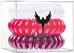 Voňavky, Parfémy, kozmetika Gumička do vlasov - HH Simonsen Hair Cuddles Red, Dark Red, Pearl