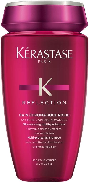 Šampón na farbené vlasy - Kerastase Reflection Bain Chromatique Riche Shampoo