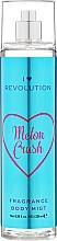 """Voňavky, Parfémy, kozmetika Sprej na telo """"Melon Crush"""" - I Heart Revolution Body Mist Melon Crush"""