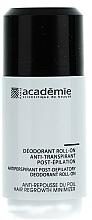 Voňavky, Parfémy, kozmetika Deodorant antiperspirant po epilácii - Academie Acad'Epil Deodorant Roll-on Specifique Post