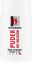 Voňavky, Parfémy, kozmetika Púder pre objem vlasov - Hegron Hair Powder Volume&Lift
