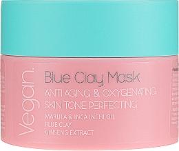Voňavky, Parfémy, kozmetika Maska s modrou hlinou - Nacomi Blue Clay Mask Anti-Aging