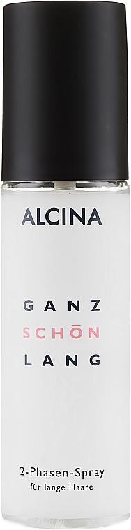 Dvojfázový sprej pre dlhé vlasy - Alcina Ganz Schon Lang 2-Phasen-Spray