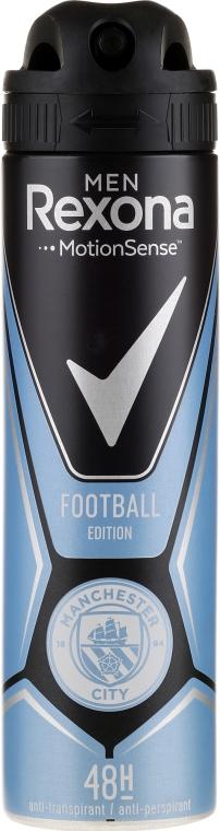Antiperspirantový sprej - Rexona Manchester City Spray