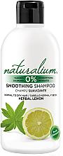 Voňavky, Parfémy, kozmetika Vyhladzujúci šampón - Naturalium Herbal Lemon Smoothing Shampoo