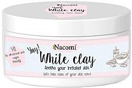 Voňavky, Parfémy, kozmetika Biela hlina na tvár - Nacomi White Clay