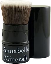 Voňavky, Parfémy, kozmetika Štetec na púder, lícenku a brozner, výsuvný - Annabelle Minerals Flat Top