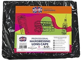 Voňavky, Parfémy, kozmetika Kadernícka pláštenka, dlhá, čierna - Ronney Professional Hairdressing Long Cape