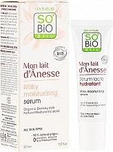 Voňavky, Parfémy, kozmetika Intenzívne hydratačné sérum s oslím mliekom - So'Bio Etic Deep Moisturizing Serum