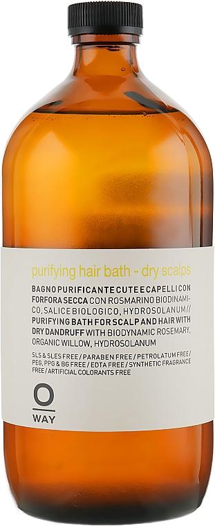 Šampón proti lupinám pre suchú pokožku hlavy - Oway Purifying Hair Bath Dry Scalps — Obrázky N4