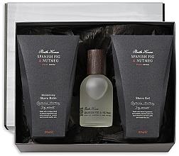 Voňavky, Parfémy, kozmetika Bath House Spanish Fig and Nutmeg - Sada (edc/100ml + shave/gel/100ml + shave/balm/100ml)