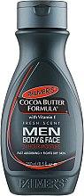 Voňavky, Parfémy, kozmetika Pánsky lotion na starostlivosť o telo - Palmer's Cocoa Butter Formula Men Body & Face Lotion
