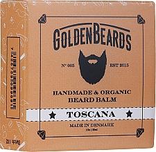 "Voňavky, Parfémy, kozmetika Balzam na bradu ""Toscana"" - Golden Beards Beard Balm"