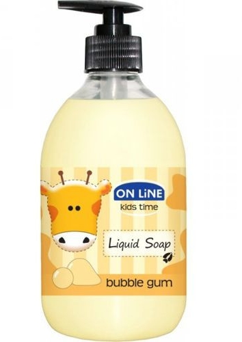 Tekuté mydlo - On Line Kids Time Liquid Soap Bubble Gum