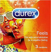 Voňavky, Parfémy, kozmetika Kondómy, 3 ks - Durex Feels
