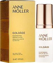 Voňavky, Parfémy, kozmetika Výživné sérum na tvár - Anne Moller Goldage Nourishment Serum-in-Oil