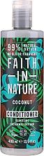 """Voňavky, Parfémy, kozmetika Kondicionér pre normálne až suché vlasy """"Kokos"""" - Faith In Nature Coconut Conditioner"""