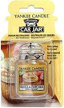 Voňavky, Parfémy, kozmetika Vôňa do auta - Yankee Candle Car Jar Vanilla Cupcake